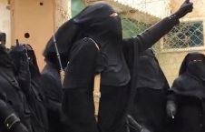زن داعشی 226x145 - مادر داعشیها دستگیر شد! + عکس