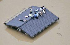 سیل جاپان 1 226x145 - تصاویر/ بارشهای سیل آسا در جاپان