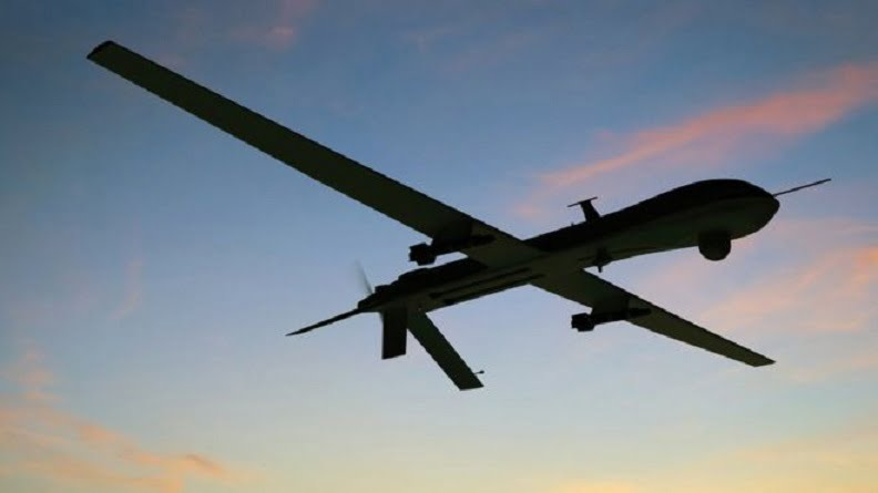 طیاره بی پیلوت - انهدام طیاره بی پیلوت سعودی در آسمان یمن