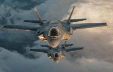 طیاره 2 226x145 - حمله طیارات جنگی امریکایی بالای مواضع پولیس در ولایت کندز