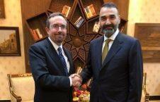 محمد نور 1 226x145 - دیدار والی پیشین بلخ با سفیر امریکا در افغانستان