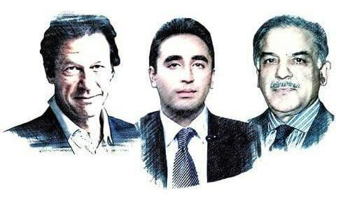 عمران خان 1 500x295 - حزب تحریک انصاف به رهبری عمران خان پیشتاز انتخابات پارلمانی در پاکستان