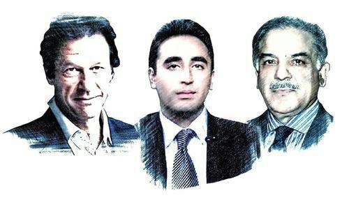 عمران خان 1 - حزب تحریک انصاف به رهبری عمران خان پیشتاز انتخابات پارلمانی در پاکستان