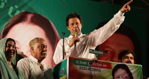 عمران خان 4 - اولین نطق ضد استعماری عمران خان: امریکا را از افغانستان اخراج کنید!