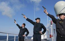 مانور چین 226x145 - اجرای مانورهای نظامی در آب های بحر شرقی چین و جاپان