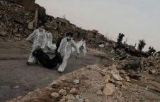موصل جسد 226x145 - کشف هزاران جسد در شهر موصل عراق