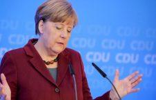 میرکل 226x145 - انتقاد شدید میرکل از توهین ترمپ به موترهای ساخت جرمنی