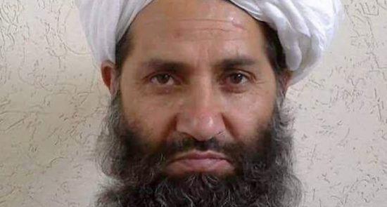 هبت الله 550x295 - دستور ملا هبتالله به اعضای طالبان درباره ممنوعیت مجازات متهمان پیش از رأی محکمه