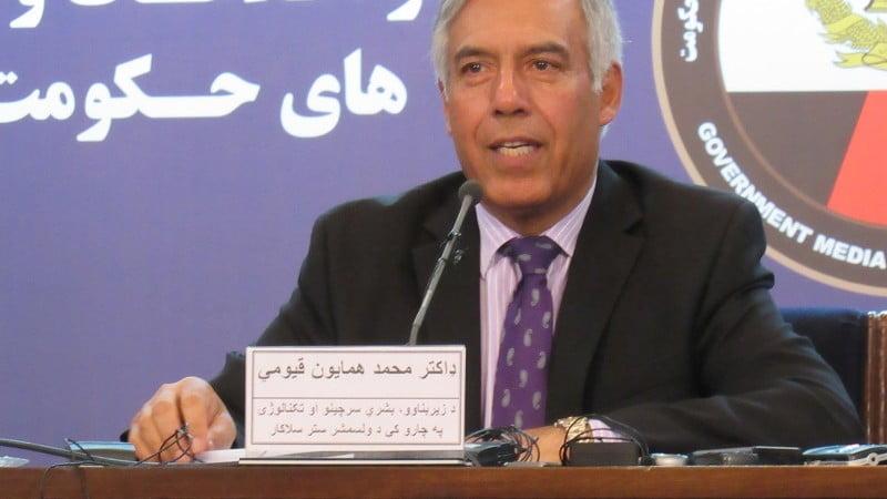 همایون قیومی - عدم حضور سرپرست وزارت مالیه در جلسه استجواب ولسی جرگه