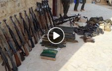 ویدیو انبار تسلیحات تروریستان سوریه 226x145 - ویدیو/ کشف انبار کلان تسلیحات تروریستان در سوریه