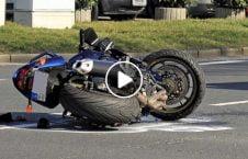 ویدیو برخورد مرگبار موترسایکل با موتر 226x145 - ویدیو/ برخورد مرگبار موترسایکل با موتر