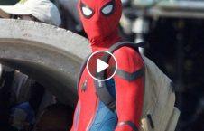 ویدیو ترسناک مرد عنکبوتی تعمیر بلند 226x145 - ویدیو/ لحظات ترسناک از مرد عنکبوتی در بالای یک تعمیر بلند