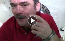 ویدیو دردسرهای گریه کردن در فضا 226x145 - ویدیو/ دردسرهای گریه کردن در فضا!