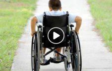 ویدیو/ با کمک این وسیله معلولان می توانند راه بروند!