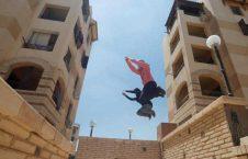 پارکور 2 226x145 - پارکور زنان مسلمان در سرکهای مصر + تصاویر