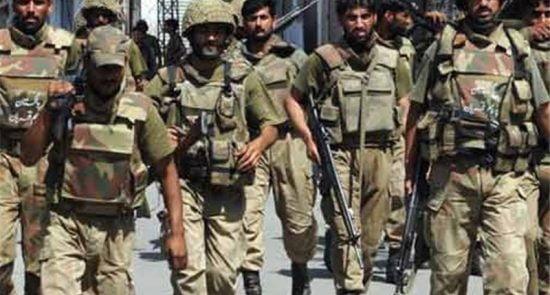 پاکستان اردوی ملی 550x295 - خواندن نماز جنازه بر عساکر پاکستانی حرام اعلام شد