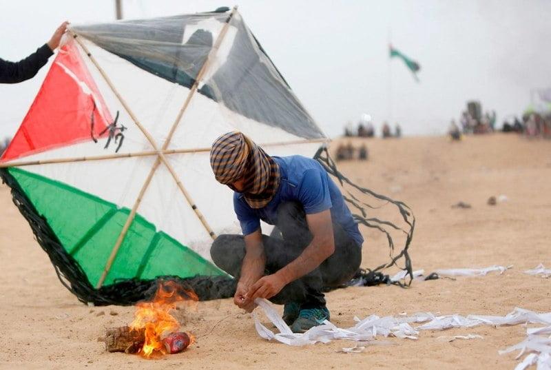کاغذ پران - ترس نتانیاهو از تسلیحات دست ساز فلسطینیان!