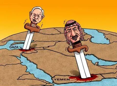 یمن 1 - کاریکاتور/ نسل کشی مسلمانان؛ از غزه تا یمن