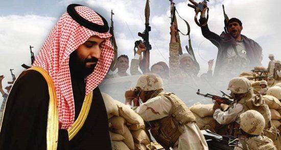 یمن 550x295 - کشته شدن دهها نیروی ایتلاف سعودی در ولایت مأرب یمن
