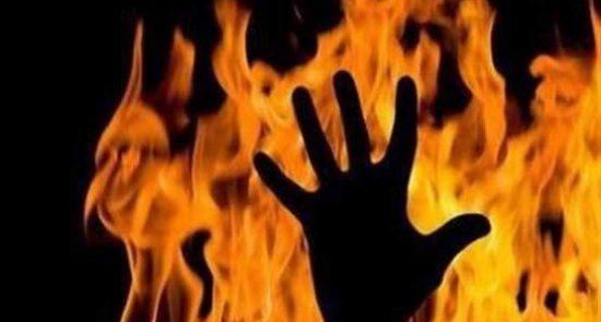 آتش 550x295 - نجات جان یک خانواده مهاجر افغان توسط باشنده ترکیه ای