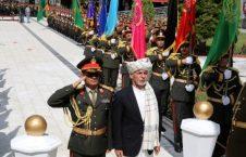 اشرف غنی 226x145 - رییس جمهور غنی به پای منار استقلال، اکلیل گل گذاشت