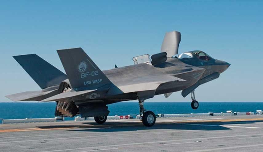 اف 35 - فرود بم های اماراتی برسر مظلومان غزه