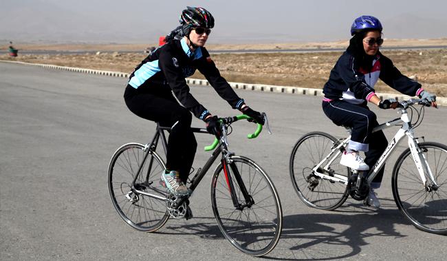 بایسکلرانی - راه اندازی سومین دور تور بایسکلرانی در بامیان