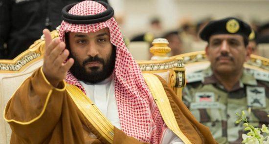 بن سلمان 550x295 - حويطات قربانی سياست های سركوبگرانه محمد بن سلمان