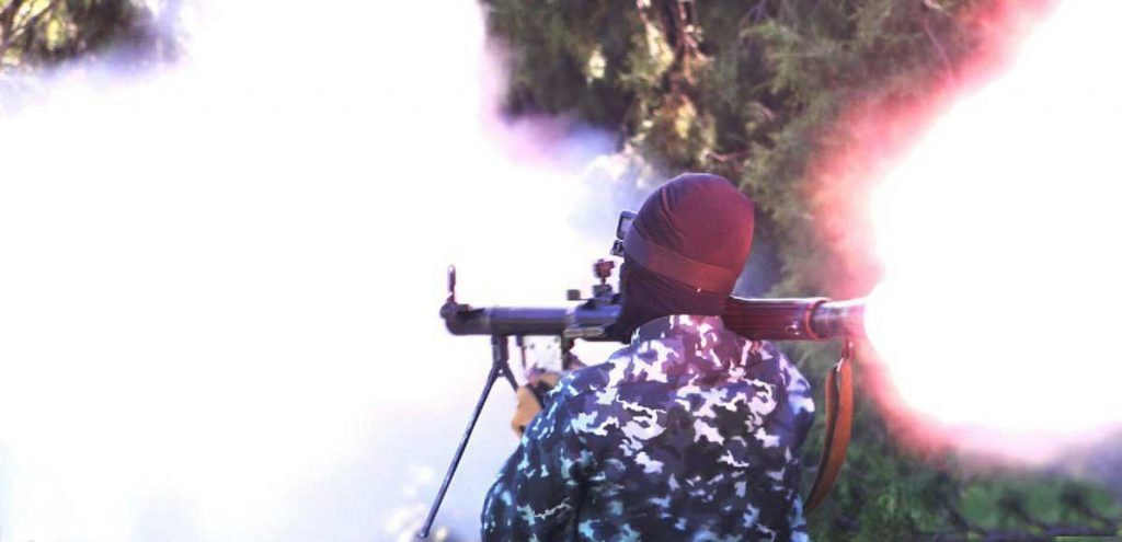 3 1024x495 - تصاویر/ قدرت نمایی داعش در ننگرهار
