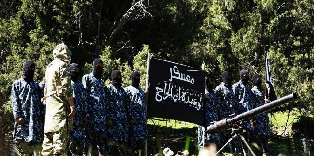 5 1024x508 - تصاویر/ قدرت نمایی داعش در ننگرهار
