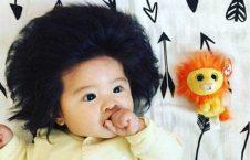 دختر جاپانی 1 226x145 - تصاویر/ دختر محبوب انستاگرامی با موهای خاص و عجیب