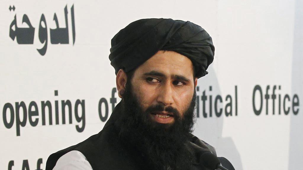 ذبيح الله مجاهد - واکنش ذبیحالله مجاهد به حمله هوایی بر یک موتر در ولایت ننگرهار