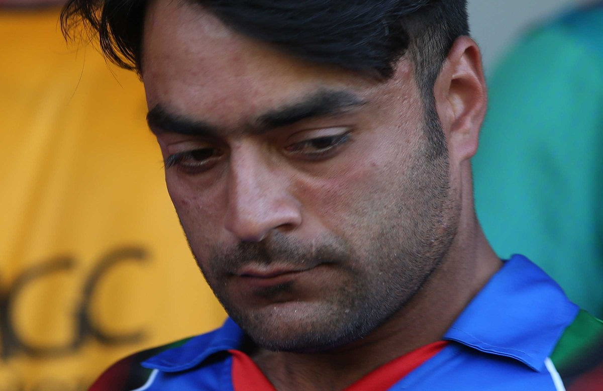 راشد خان - اقدام تحسین برانگیز قهرمان تیم ملی کرکت کشور