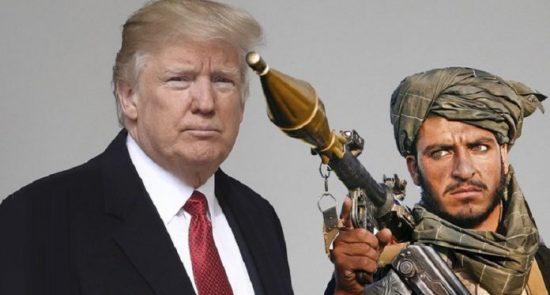 طالبان امریکا 550x295 - اعلامیه گروه طالبان در پیوند به پلان امریکا برای بیت المقدس و فلسطین