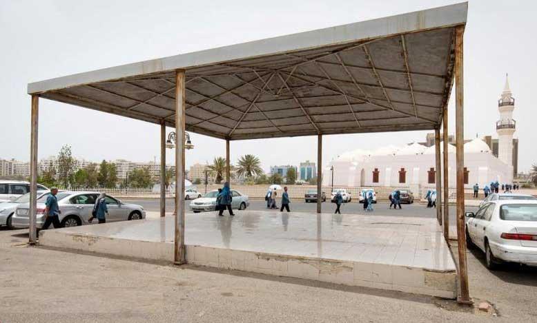 سکوی اعدام - تصویر/ سکوی اعدام در عربستان