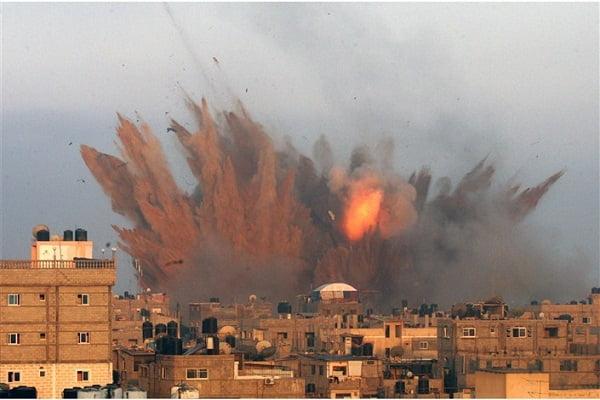 غزه - پاسخ کوبنده نیروهای مقاومت فلسطین به حمله اسراییل