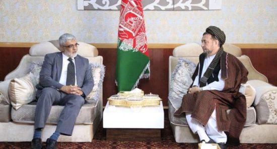 محمد محقق زاهد نصرالله خان 550x295 - در دیدار محقق با سفیر پاکستان چه گذشت؟