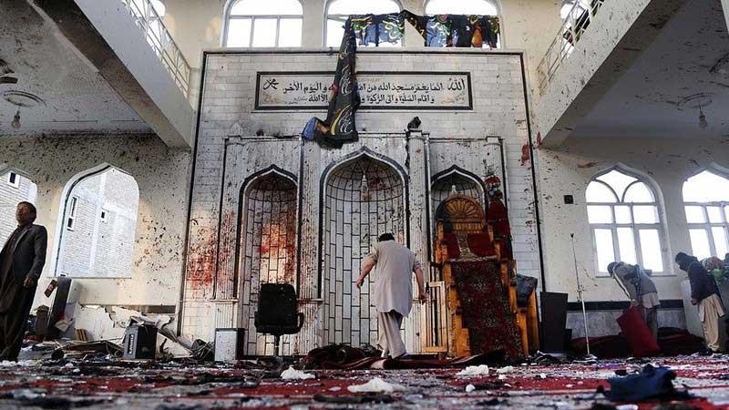 مسجد امام زمان پکتیا - واکنشهای گستردۀ داخلی و خارجی به حمله انتحاری روز گذشته در پکتیا