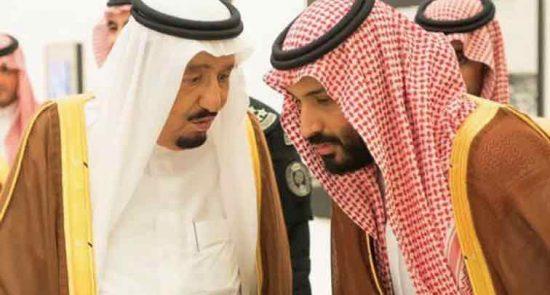 ملک سلمان بن سلمان 550x295 - عربستان در یک قدمی شورش علیه ملک سلمان