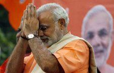 مودی 226x145 - تصاویر/ روش متفاوت صدر اعظم هند برای تقدیر از کارمندان شاروالی