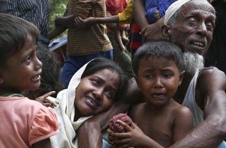 میانمار 450x295 - قاتلان مسلمانان روهینگیا از زندان آزاد شدند