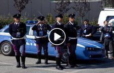 جدال باشنده ایتالیا عسکر پولیس 226x145 - ویدیو/ جدال دیدنی یک باشنده ایتالیایی با 8 عسکر پولیس!