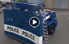موتر کنترول پولیس ضدشورش 1 226x145 - ویدیو/ موتر کنترول از راه دور پولیس ضدشورش!