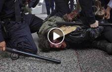 وحشیانه پولیس امریکا مردم 226x145 - ویدیو/ برخورد وحشیانه پولیس امریکا با مردم