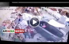 ویدیو ورود یک موتر به داخل مارکیت 226x145 - ویدیو/ ورود یک موتر به داخل مارکیت