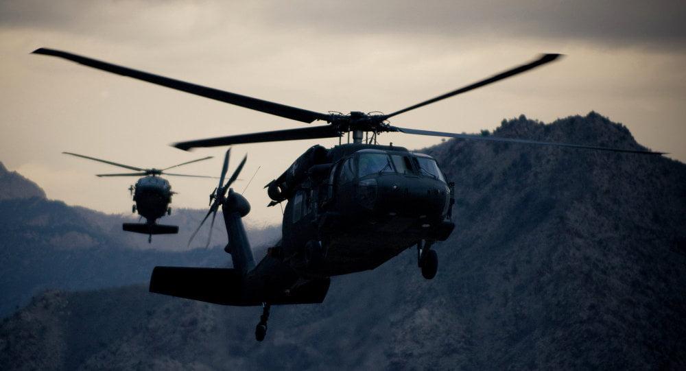 چرخبال 1 - ابراز نگرانی روسیه از پرواز چرخبال های ناشناس بر فراز افغانستان!