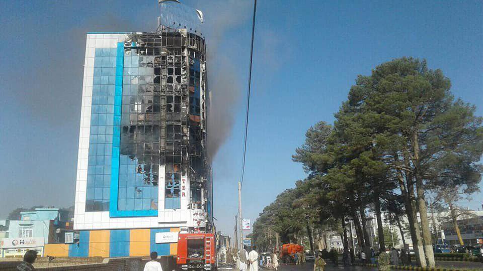 کابل بانک هرات 3 - تصاویر/ آتش در کابل بانک هرات