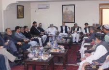 کرزی 226x145 - نشست صمیمی شماری از رهبران سیاسی با حامد کرزی