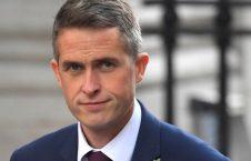 گاوین ویلیامسن 226x145 - وزیر دفاع بریتانیا وارد کابل شد