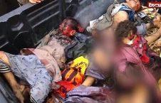 یمن 1 1 226x145 - جنایت هولناک متجاوزان سعودی در صعده/ حمله به بس حامل متعلمان